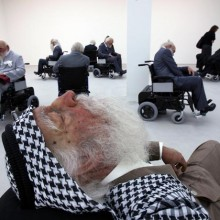 'Old Persons Home' 2007 by Sun Yuan and Peng Yu, Saatchi Gallery