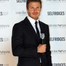David Beckham, Selfridges
