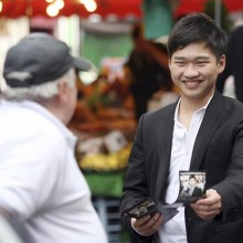 Steven Cheung, advisor to the Youth Citizen Commission