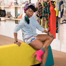 Arieta Mujay, fashion PR for River Island