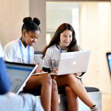 Girls in tec. Net-A-Porter hackathon, London