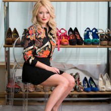 Grace Kither, fashion PR for Next