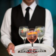 Martini Spritz event, East London