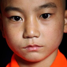 Young Shaolin monk