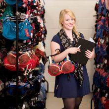 Cheryl Warner, employee at lingerie company Curvy Kate