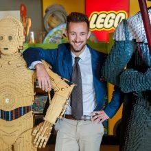 Lego display at John Lewis, London
